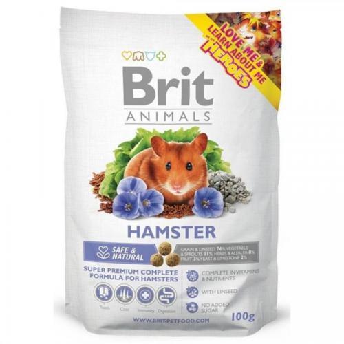 Brit animals 100g křeček complet