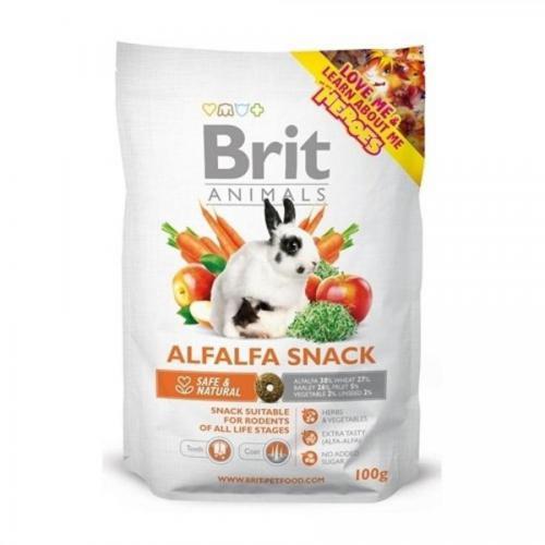 Brit animals 100g Alfalfa snack