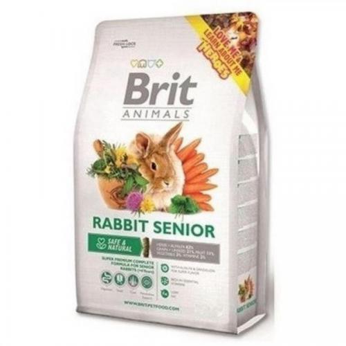 Brit animals 300g králík senior complete