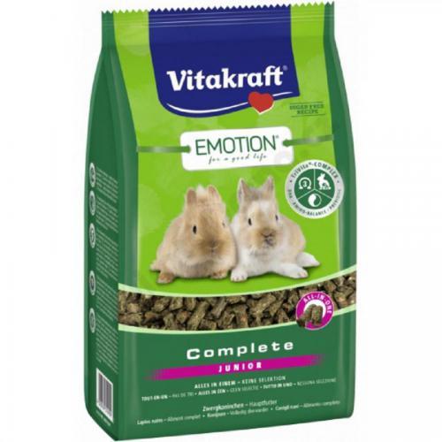 Vitakraft Emotion Complete králík junior 800g