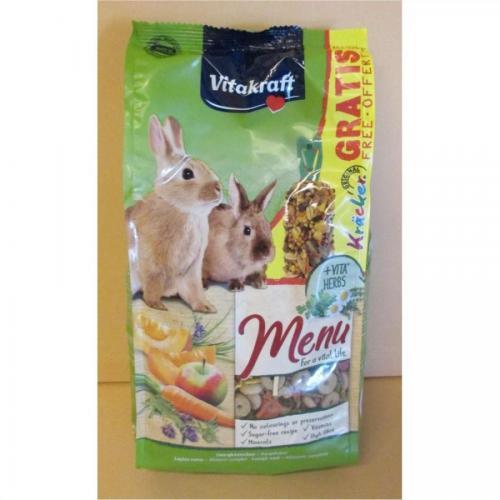 Menu vital králík + Kracker 1kg
