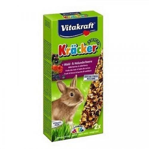 Kräcker tyč. králík lesní ovoce+bezinky 2ks