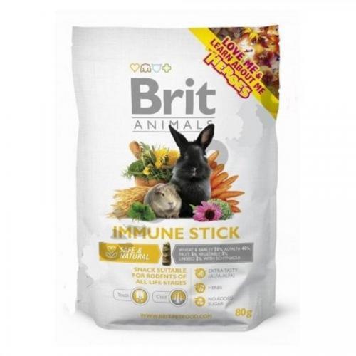 Brit animals immune stick 80g-pamlsek pro hlodavce
