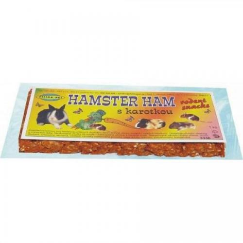 Hamster Ham s karotenem pro hlod.2ks