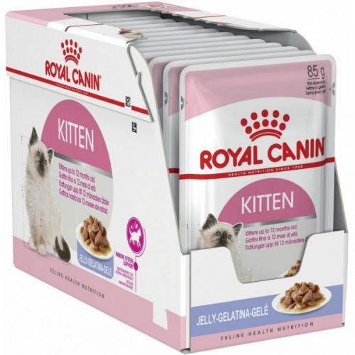Royal Canin Kitten Instinctive Jelly 12 x 85 g