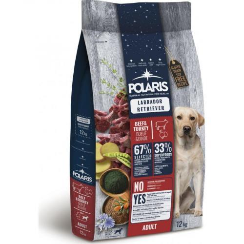 Polaris FM BS pes Adult Labrador hovězí, krůta 12kg