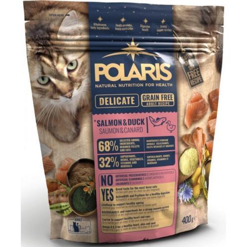 Polaris FM GF kočka Adult delic. losos,kachna 400g