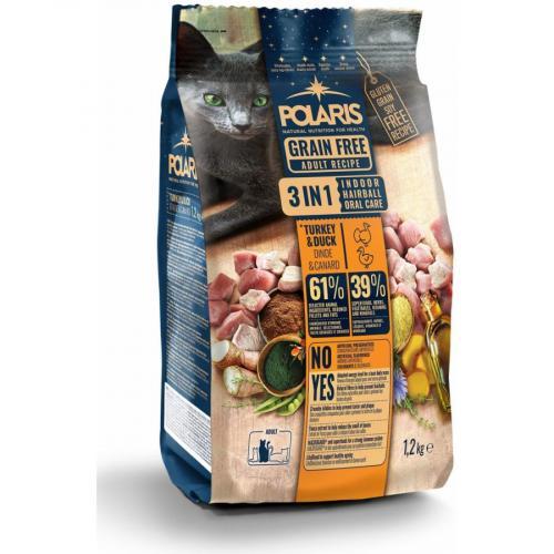Polaris FM GF kočka Adult 3in1 krůta,kachna 1,2kg