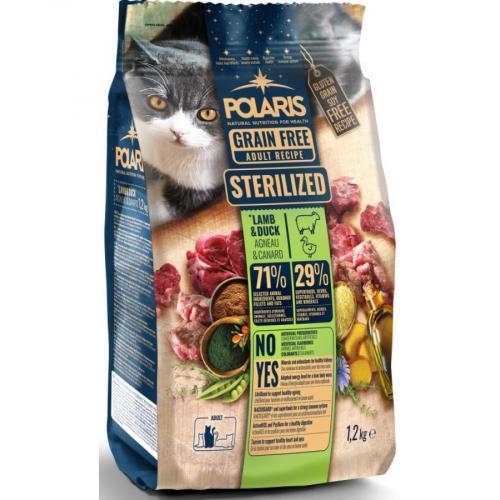 Polaris FM GF kočka Adult ster. jehně,kachna 1,2kg