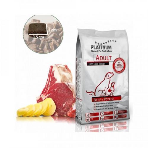 PLATINUM NATURAL BEEF & POTATOES - HOVĚZÍ S BRAMBOREM 5 KG